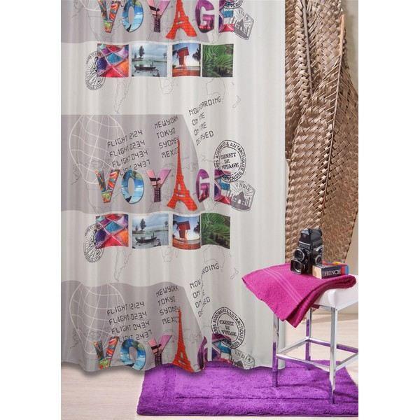 Rideau de douche 100 polyester haute qualit achat - Rideau de douche petite largeur ...