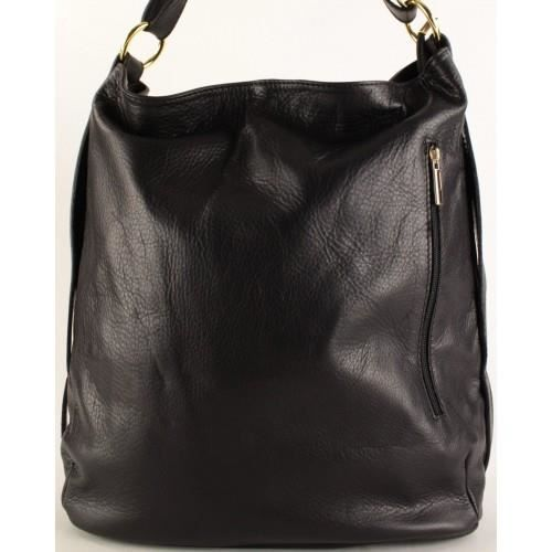 Sac cuir femme port epaule noir taille un noir achat vente sac main sac cuir femme for Taille porte