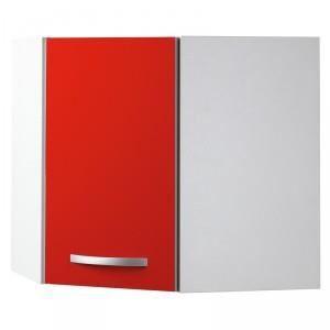 paris prix meuble haut d 39 angle 1 porte 60cm smarty rouge achat vente l ments haut paris. Black Bedroom Furniture Sets. Home Design Ideas