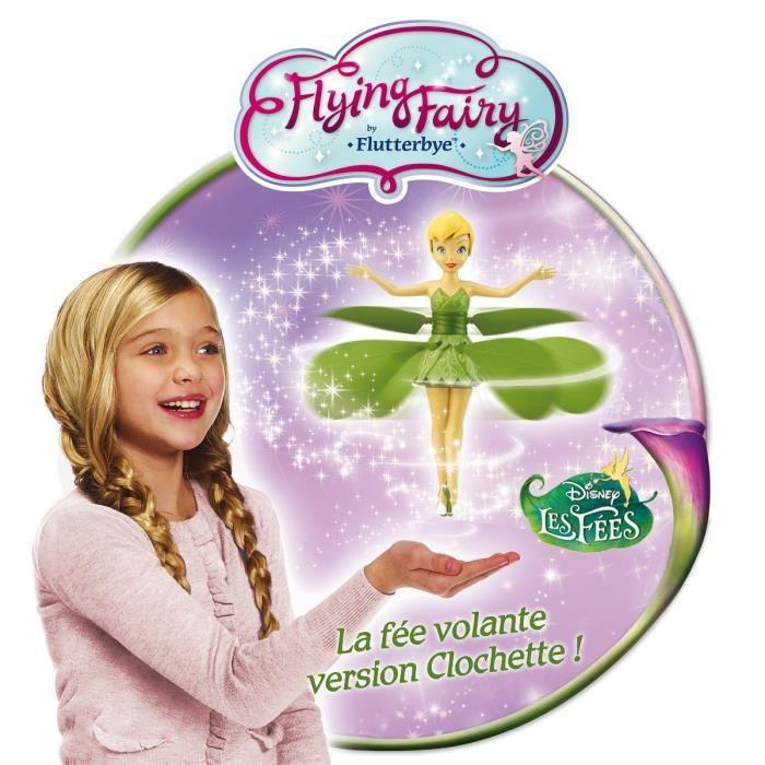 disney fairies f e clochette volante achat vente poup e disney f e clochette volante cdiscount. Black Bedroom Furniture Sets. Home Design Ideas