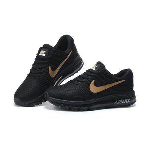 chaussure nike noir et doré