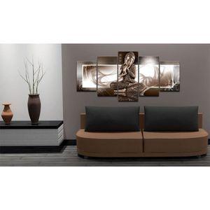toile bouddha achat vente toile bouddha pas cher les soldes sur cdiscount cdiscount. Black Bedroom Furniture Sets. Home Design Ideas
