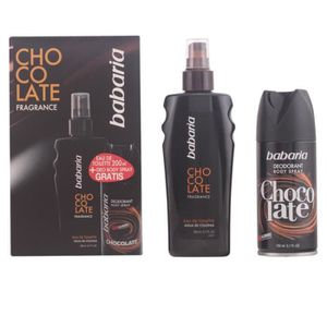 DÉODORANT Babaria - CHOCOLATE FOR MEN COFFRET edt 200 ml + d