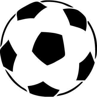 Sticker ballon foot 001 57x57 cm achat vente stickers cdiscount - Ballon de foot noir et blanc ...