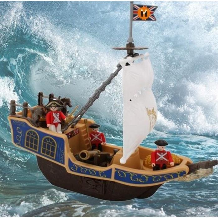jouet pour enfant bateau pirate navire 3 personnages. Black Bedroom Furniture Sets. Home Design Ideas