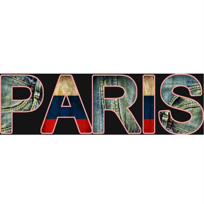 Toile paris 40x120 achat vente tableau toile cdiscount for Miroir 40x120