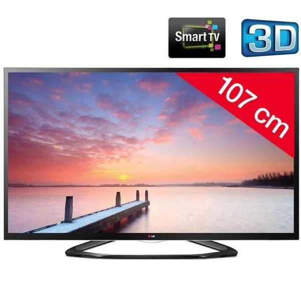 42la640s t l viseur led 3d smart tv support - Kit de retroeclairage led pour tv ...