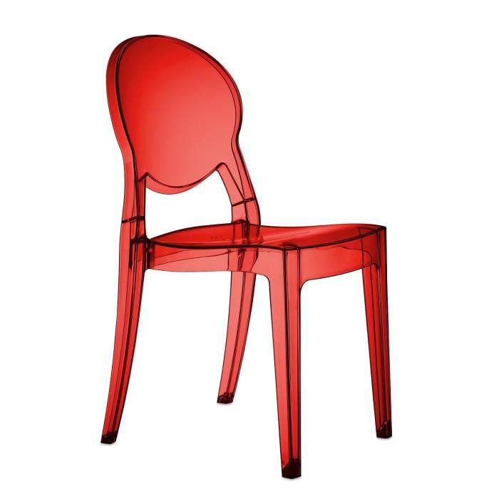 Chaises design igloo lot de 6 achat vente chaise for Lot de 6 chaises design