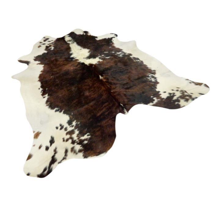 peau de vache premium d 39 am rique du sud motif marron et blanche tachet environ 3 2 m2 224. Black Bedroom Furniture Sets. Home Design Ideas