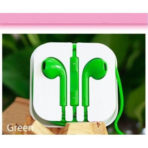 couteurs de remplacement pour iphone 5 vert casque. Black Bedroom Furniture Sets. Home Design Ideas