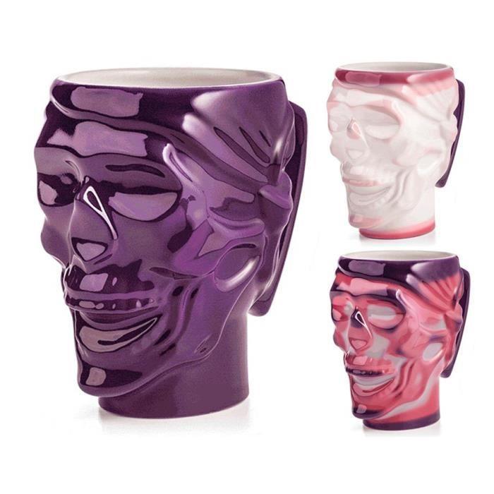 chaleur de double couche couleur changeant cr ne mug achat vente verre eau soda cdiscount. Black Bedroom Furniture Sets. Home Design Ideas