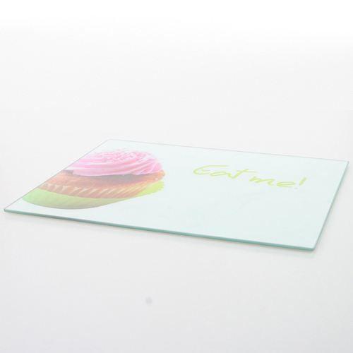 planche d couper verre tremp cupcake achat vente planche a d couper planche. Black Bedroom Furniture Sets. Home Design Ideas