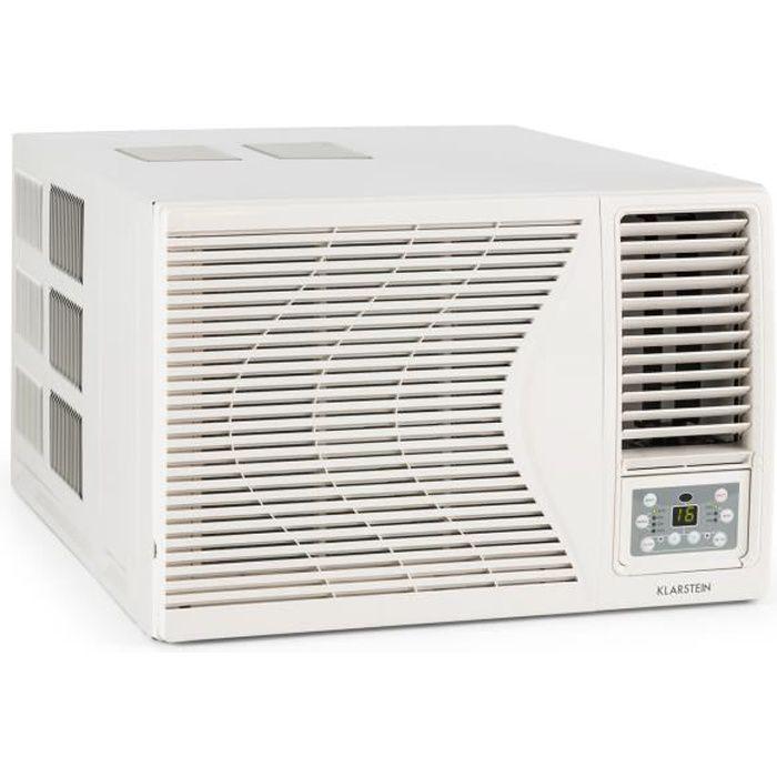 Klarstein frostik climatiseur fen tre avec fonction for Air climatise fenetre