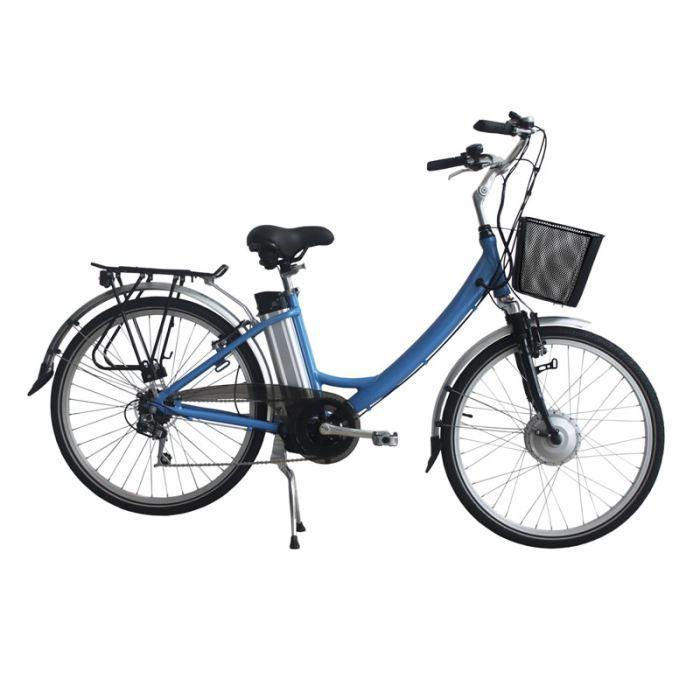 Mecer v lo lectrique tout aluminium e bike prix pas cher cdiscount - Velo electrique moins cher ...