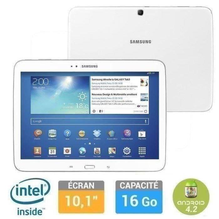 Destockage samsung galaxy tab 3 10 1 16go tablette - Tablette samsung au meilleur prix ...