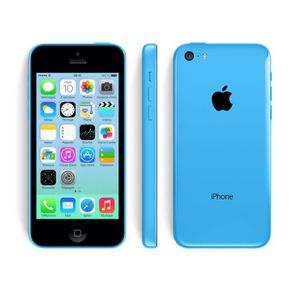 SMARTPHONE APPLE IPHONE 5C 16 GO BLEU RECONDITIONNE A NEUF
