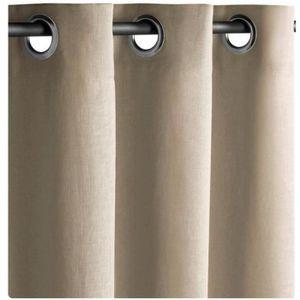 rideaux a oeillets grande largeur achat vente rideaux a oeillets grande largeur pas cher. Black Bedroom Furniture Sets. Home Design Ideas