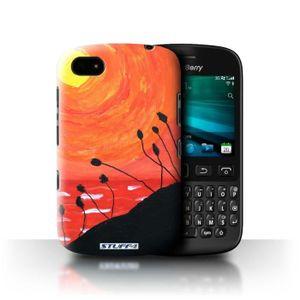 COQUE - BUMPER Coque- Coque pour Blackberry 9720 - Orange Design