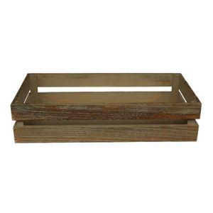 grande caisse bois achat vente grande caisse bois pas cher les soldes sur cdiscount. Black Bedroom Furniture Sets. Home Design Ideas