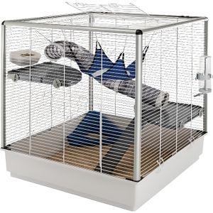 CAGE Cage équipée pour Furet, Rat ou Chinchilla - Ex…