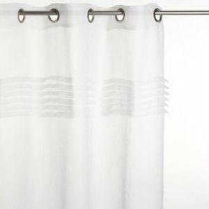 rideaux volant achat vente rideaux volant pas cher cdiscount. Black Bedroom Furniture Sets. Home Design Ideas