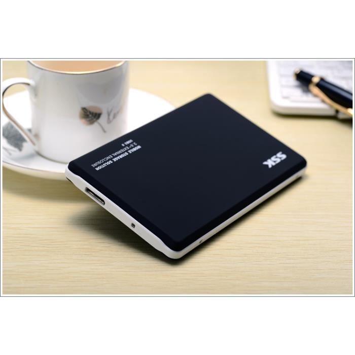 boitier disque dur externe usb 3 0 pour sata 2 5 p prix. Black Bedroom Furniture Sets. Home Design Ideas