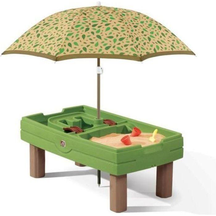 Bac sable et bac eau naturally playful achat vente bac sable cdiscount - Bac a sable sur pied ...