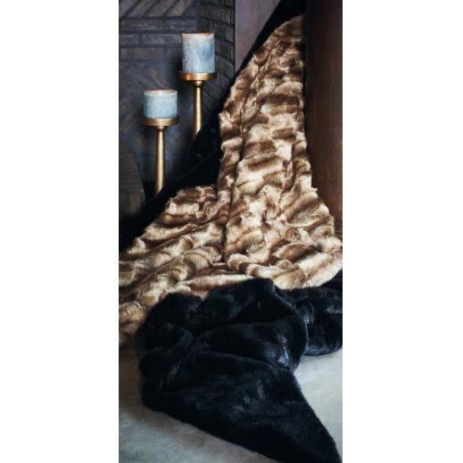 plaid camel lifestyle 140 x 180 cm achat vente couverture plaid cdiscount. Black Bedroom Furniture Sets. Home Design Ideas