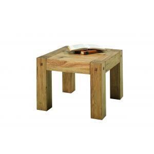 Table basse fjord 60x60 achat vente table basse table for Table basse 60 cm