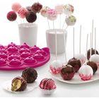 PIÈCE APPAREIL Moule à 18 Cake pops rose LEKUE