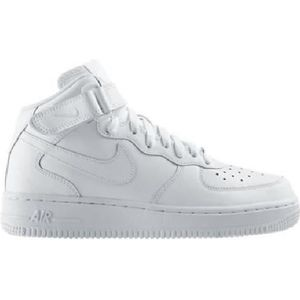 air force 1 montante blanche