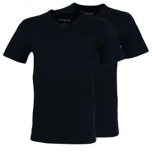 T-SHIRT Pack de 2 Tee Shirt Redskins TSCV02NONO Noir/Noir