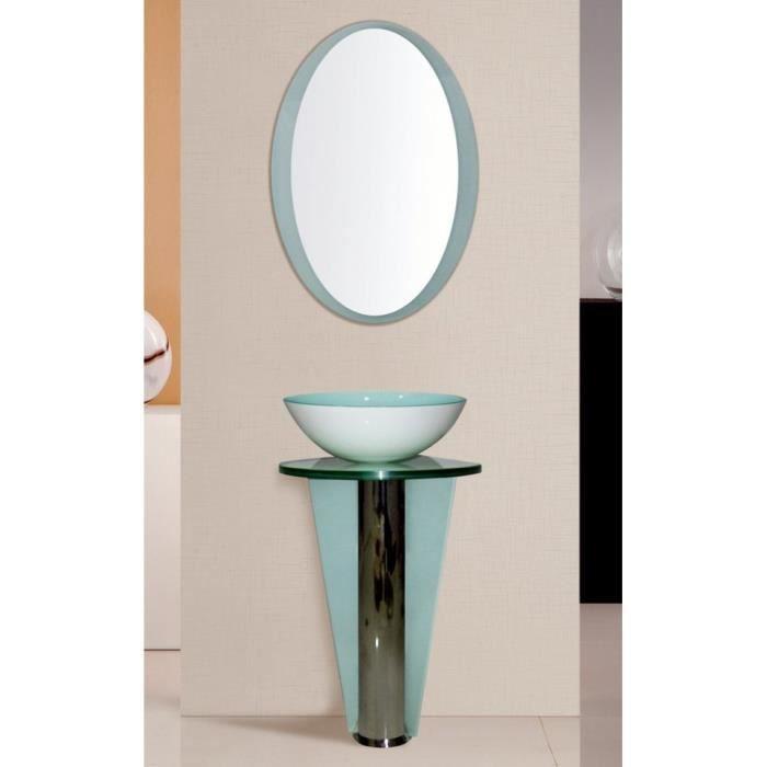 Ensemble de salle de bain vigo blanc achat vente for Ensemble de salle de bain complet