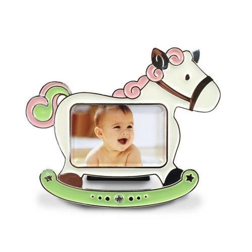 Cadre photo enfant cheval 8x5 cm achat vente cadre for Cadre photo enfant