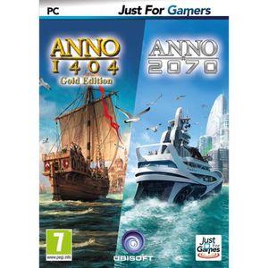 JEU PC Double Pack Anno : 1404 + 2070 Jeu PC