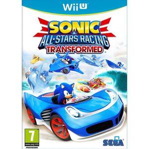 JEUX WII U Sonic All Stars Racing Transformed Ltd Jeu Wii U