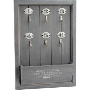 armoire a cle en bois achat vente armoire a cle en. Black Bedroom Furniture Sets. Home Design Ideas