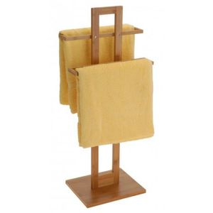 Porte serviette bambou achat vente porte serviette - Porte serviette echelle bambou ...