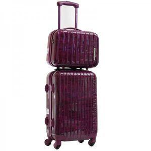 set de 2 bagages valise et vanity lulu castagnette achat vente set de sacs de voyage. Black Bedroom Furniture Sets. Home Design Ideas
