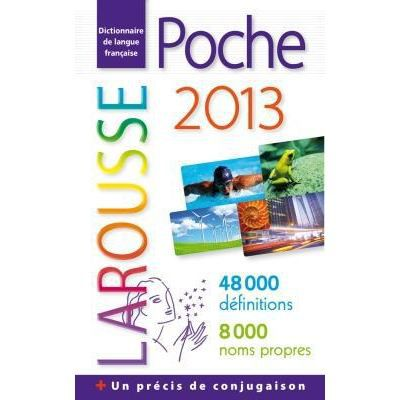 Dictionnaire larousse poche 2013 achat vente livre larousse larousse parution 23 05 2012 pas - Dictionnaire de cuisine larousse ...