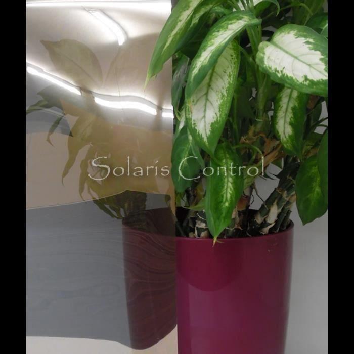 Film de protection solaire pour vitrage semi for Film protection solaire pour fenetre
