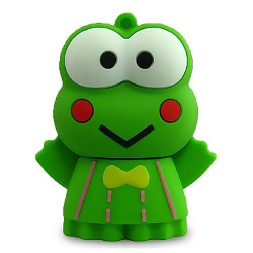 dr le cle usb 2go anmaux verts grenouille prix pas cher. Black Bedroom Furniture Sets. Home Design Ideas