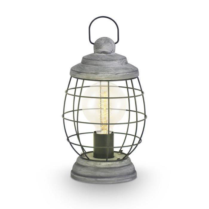eglo lampe de table vintage 49289 achat vente eglo lampe de table vintage cdiscount. Black Bedroom Furniture Sets. Home Design Ideas