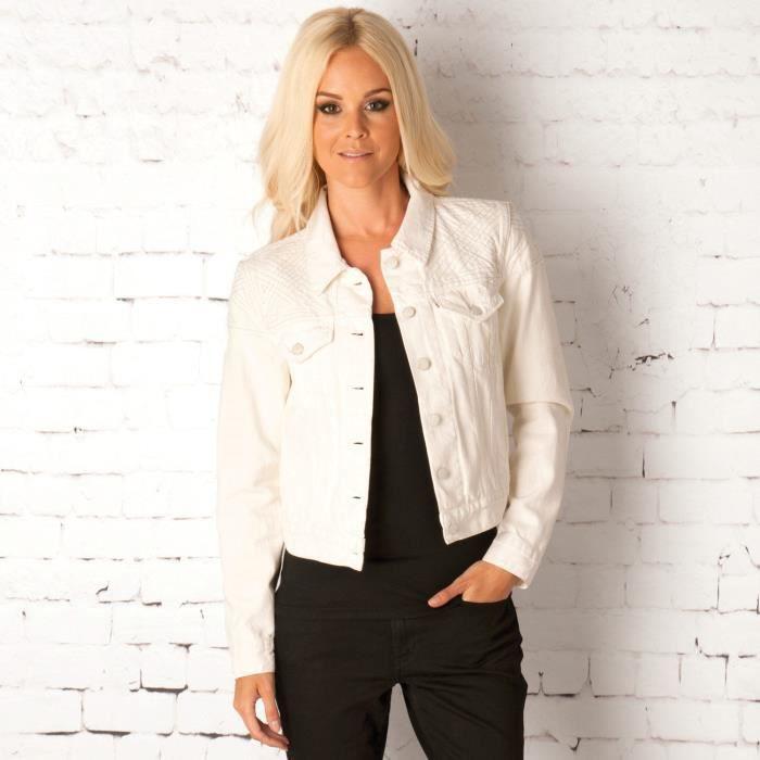 blouson craft levi 39 s pour femme blanc blanc achat vente blouson blouson craft levi 39 s pour. Black Bedroom Furniture Sets. Home Design Ideas