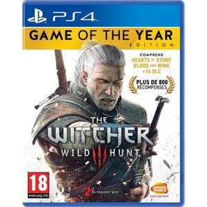 JEU PS4 The Witcher 3 : Wild Hunt Goty Edition Jeu PS4