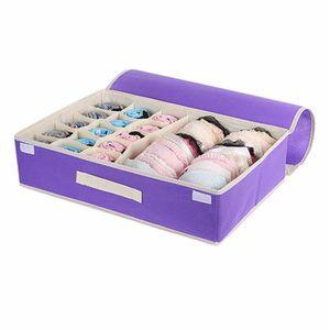 15 grilles pliable organisateur pour sous v 234 tements bras chaussettes violet achat vente