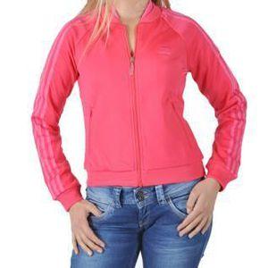 GILET - CARDIGAN Veste Adidas Spergirl V32777 Rose