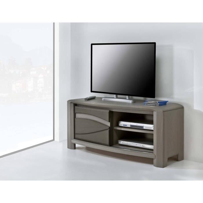meuble t l oceanie chene massif achat vente meuble tv meuble t l oceanie. Black Bedroom Furniture Sets. Home Design Ideas