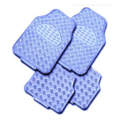 tapis de sol pour voiture aluminium bleu racing achat. Black Bedroom Furniture Sets. Home Design Ideas
