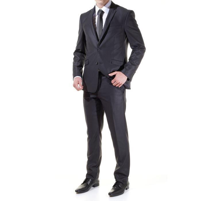 costume jean louis scherrer s946 gris achat vente. Black Bedroom Furniture Sets. Home Design Ideas